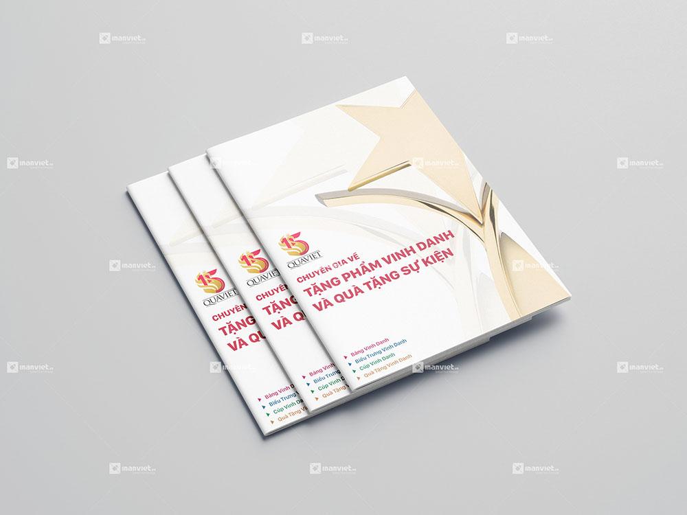 In Ấn Sách Bằng Công Nghệ In Catalogue